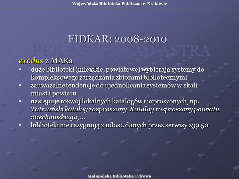 PER ASPERA AD ASTRA FIDKAR: 2008-2010 exodus z MAKa