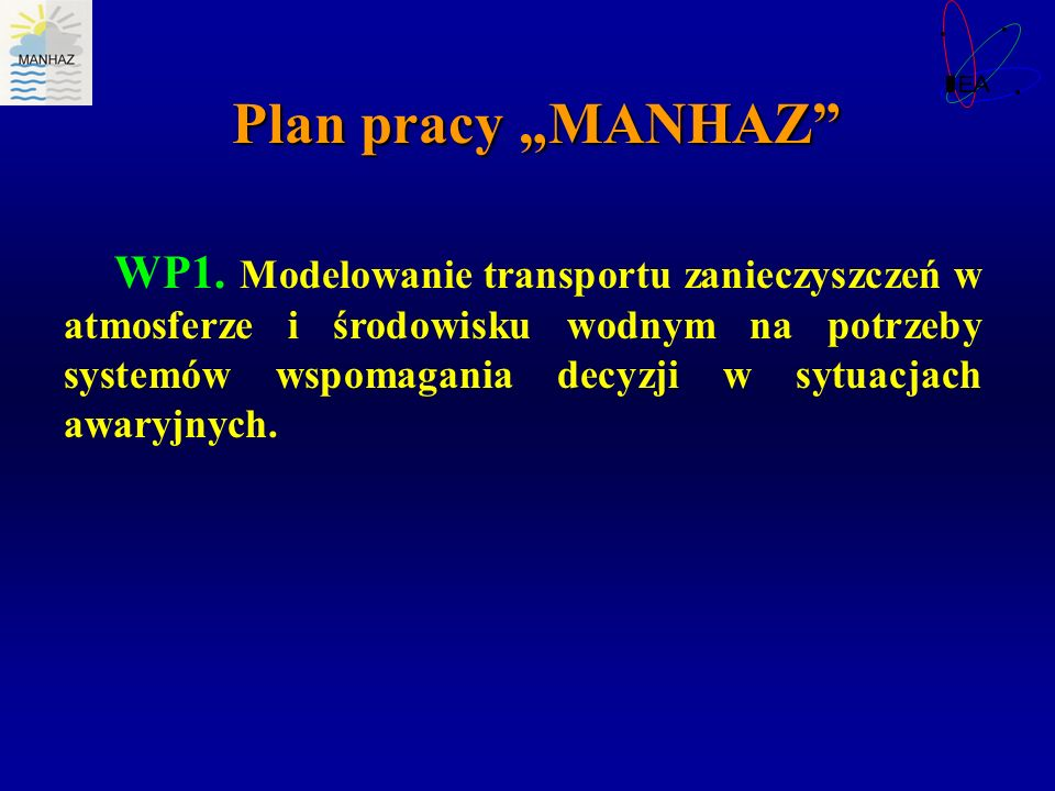 "Plan pracy ""MANHAZ"