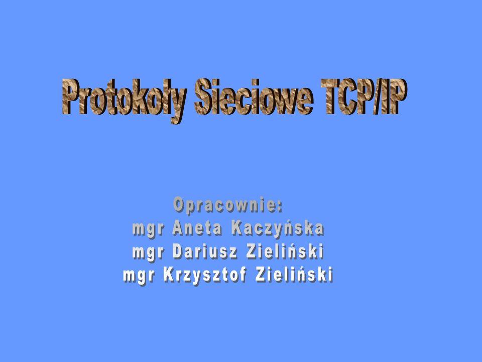 Protokoły Sieciowe TCP/IP
