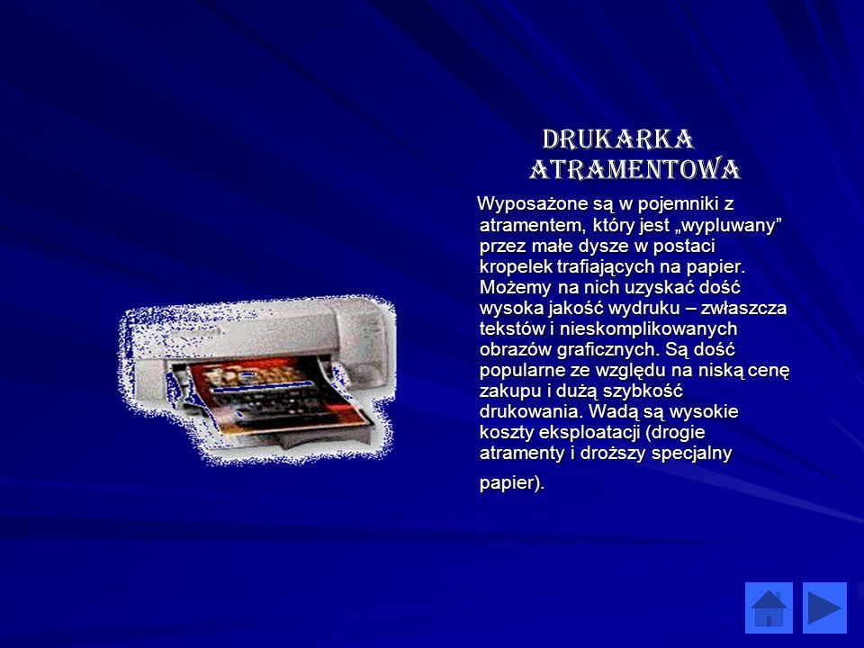 Drukarka Atramentowa
