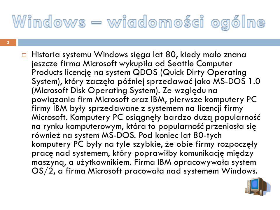 Windows – wiadomości ogólne