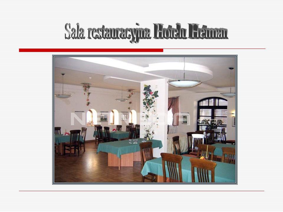 Sala restauracyjna Hotelu Hetman