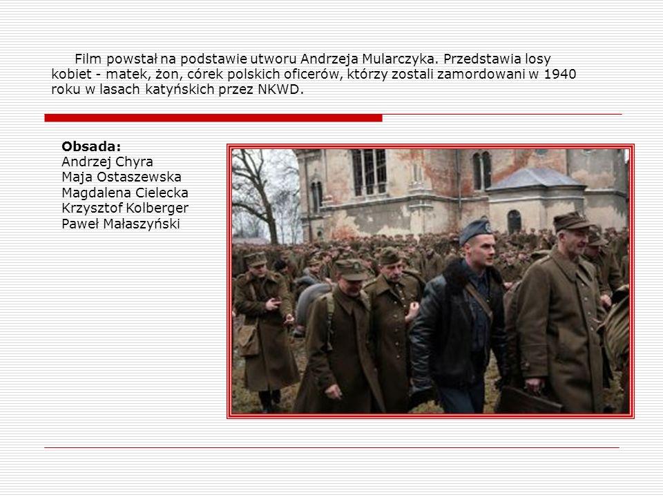 Film powstał na podstawie utworu Andrzeja Mularczyka