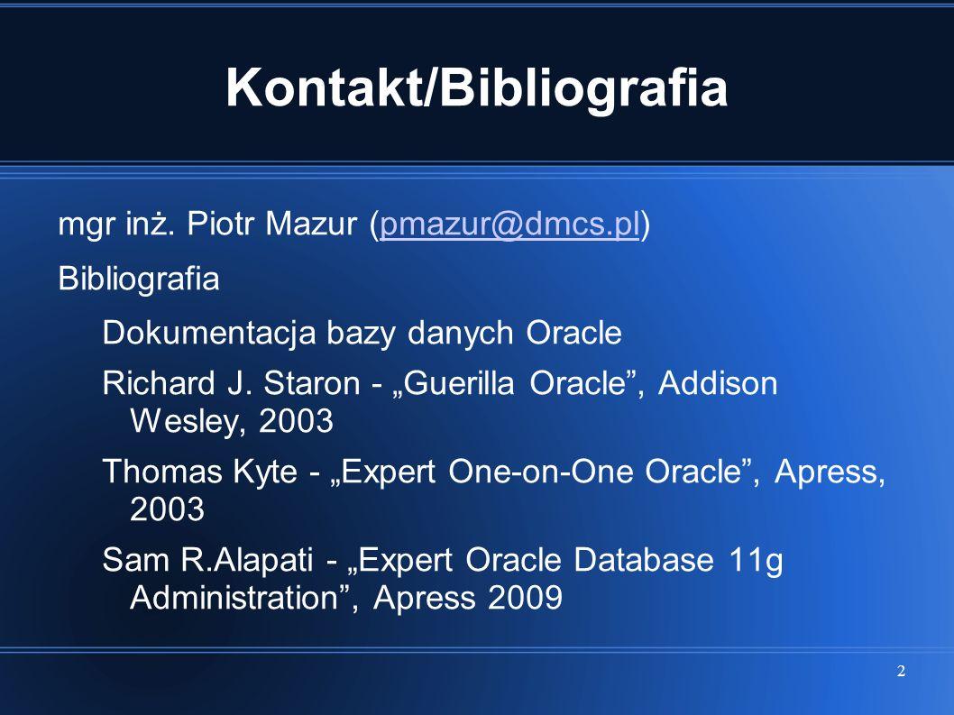 Kontakt/Bibliografia