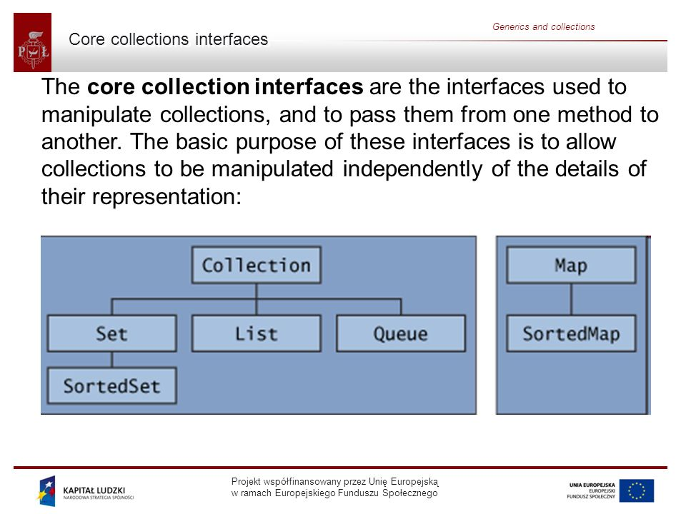Core collections interfaces