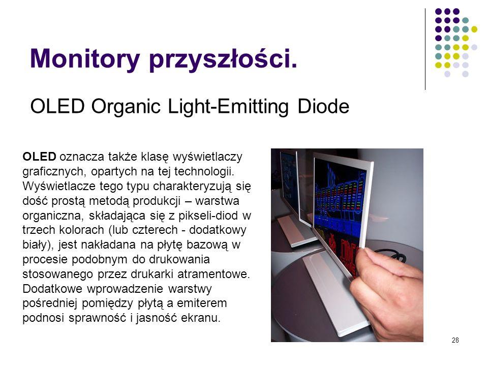 Monitory przyszłości. OLED Organic Light-Emitting Diode