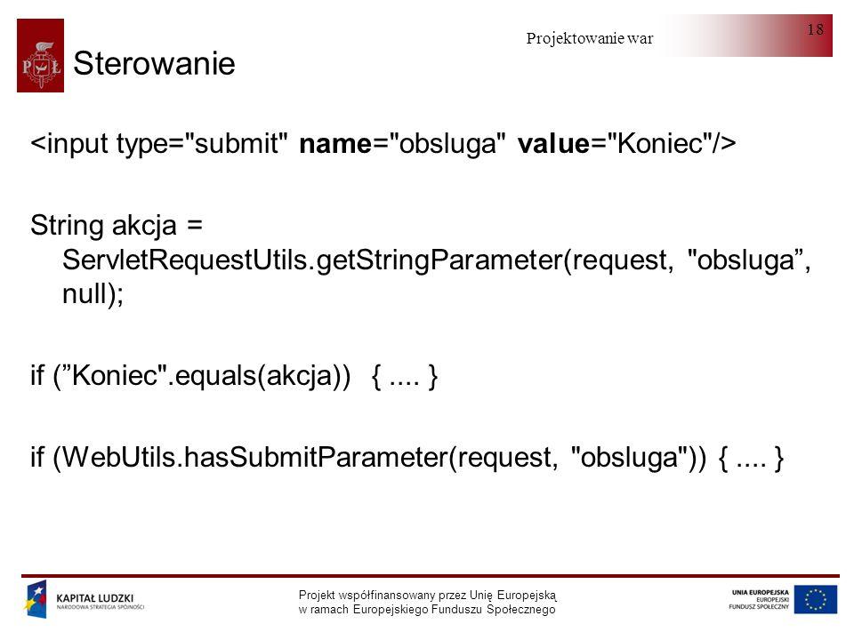 Sterowanie <input type= submit name= obsluga value= Koniec />