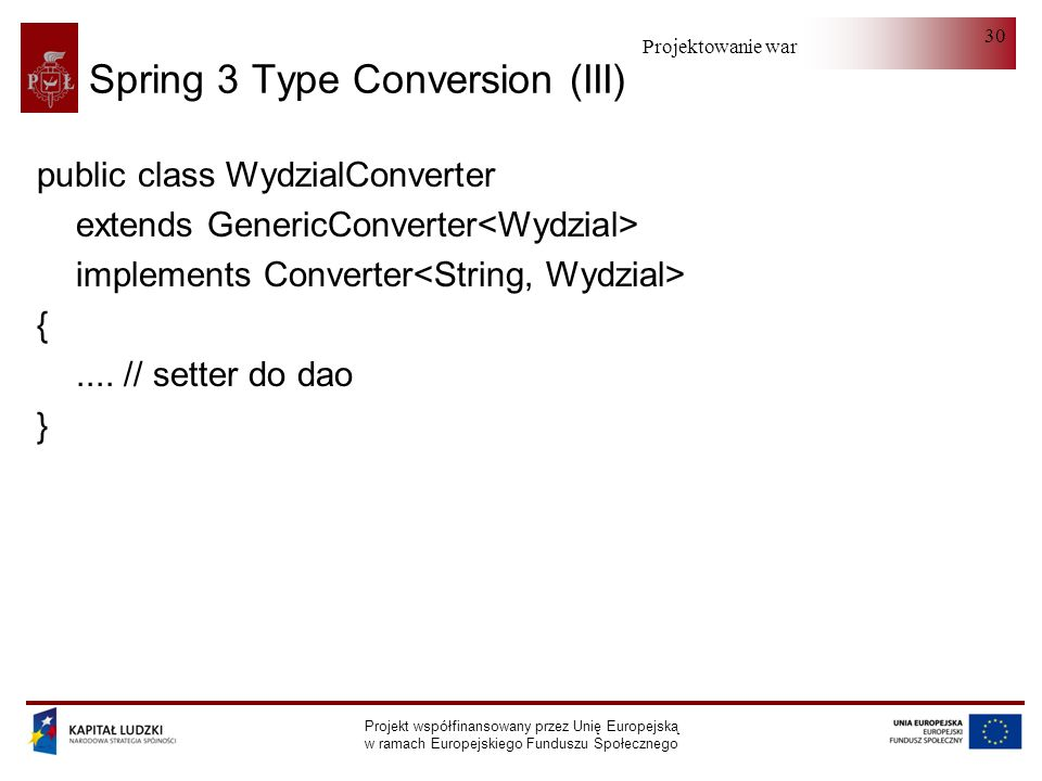 Spring 3 Type Conversion (III)