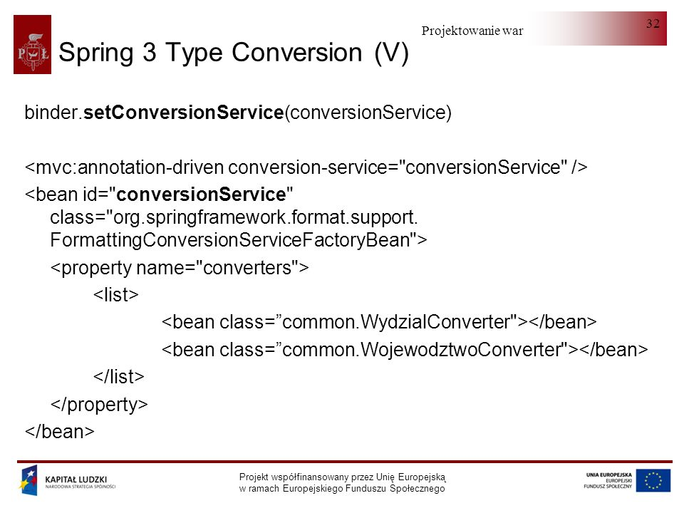 Spring 3 Type Conversion (V)