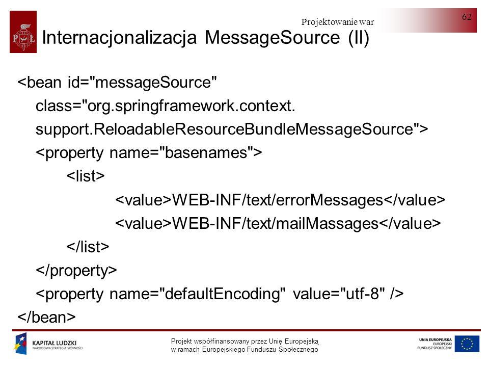 Internacjonalizacja MessageSource (II)