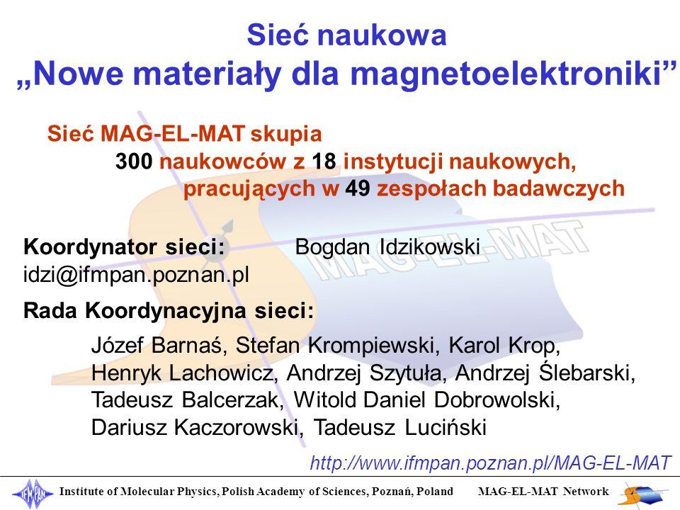 """""""Nowe materiały dla magnetoelektroniki"""
