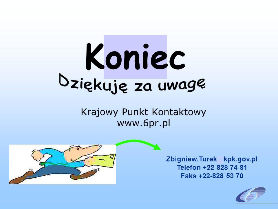 Krajowy Punkt Kontaktowy www.6pr.pl