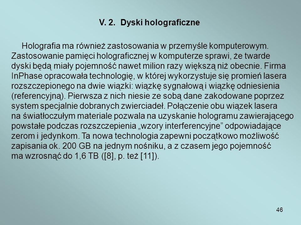 Zastosowanie pamięci holograficznej w komputerze sprawi, że twarde