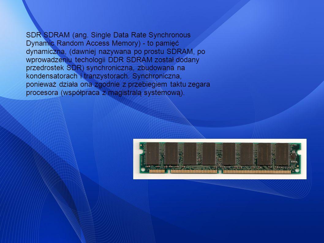 SDR SDRAM (ang.