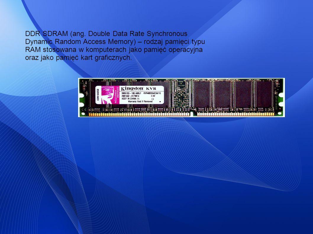 DDR SDRAM (ang.