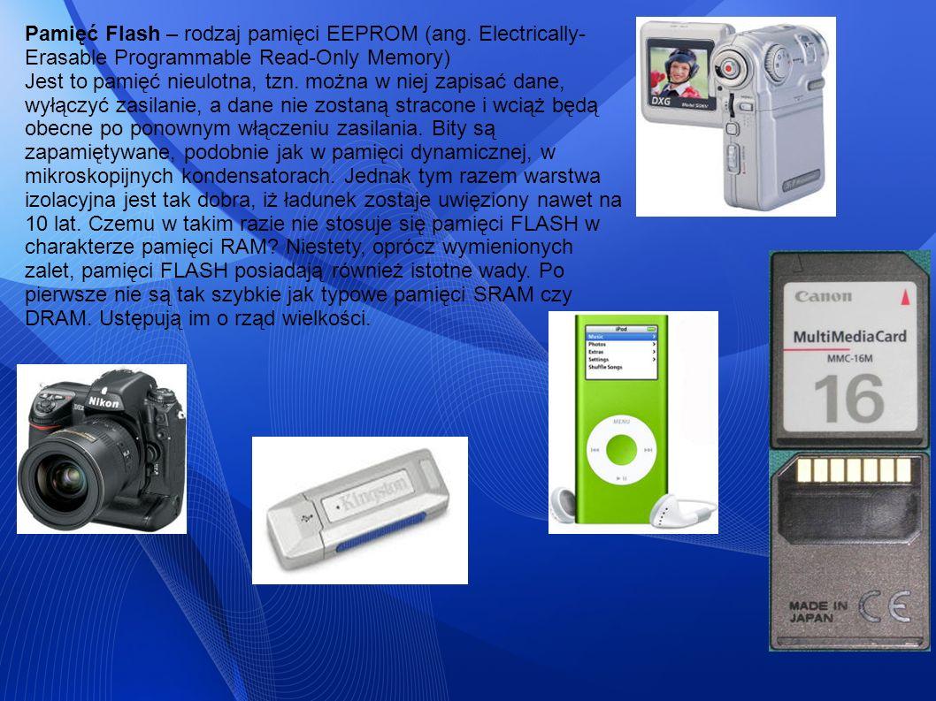 Pamięć Flash – rodzaj pamięci EEPROM (ang