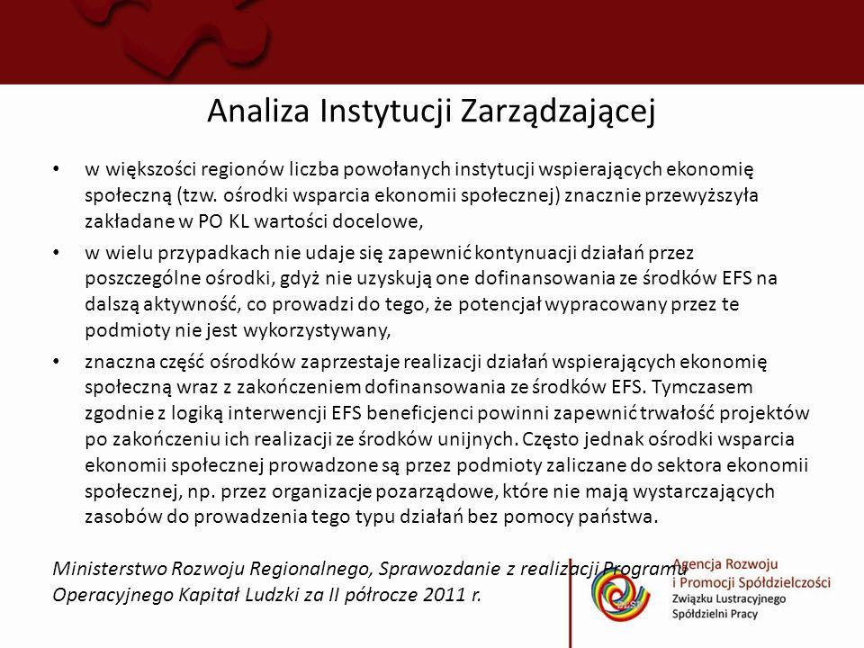 Analiza Instytucji Zarządzającej