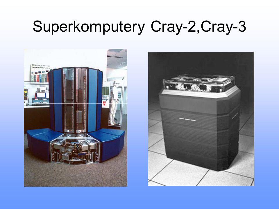 Superkomputery Cray-2,Cray-3