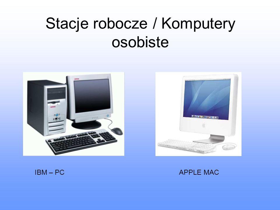 Stacje robocze / Komputery osobiste