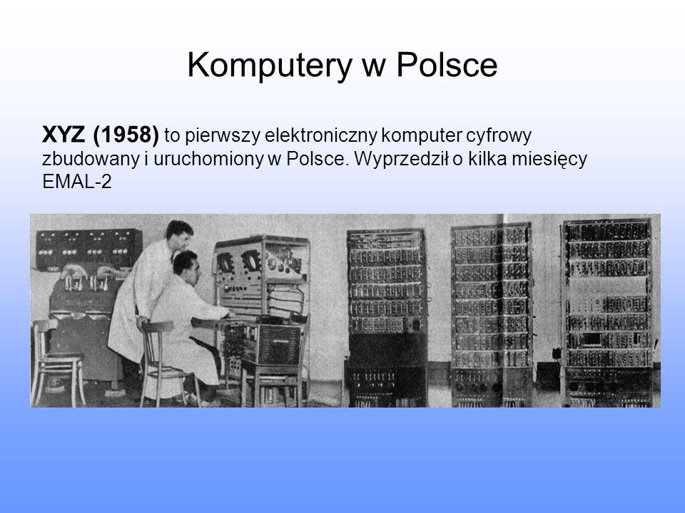 Komputery w Polsce XYZ (1958) to pierwszy elektroniczny komputer cyfrowy zbudowany i uruchomiony w Polsce.