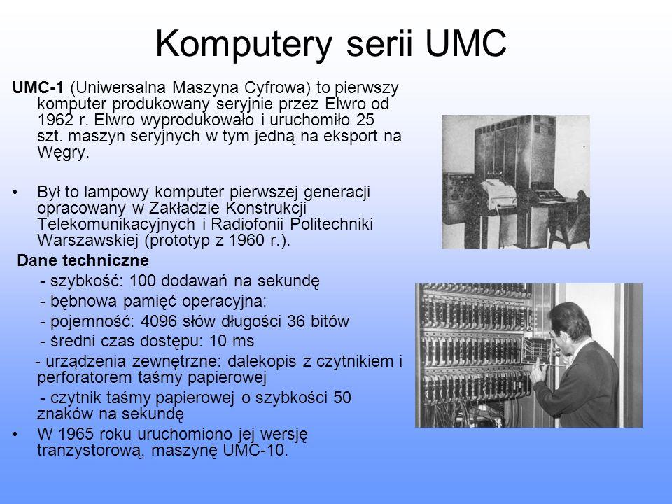 Komputery serii UMC