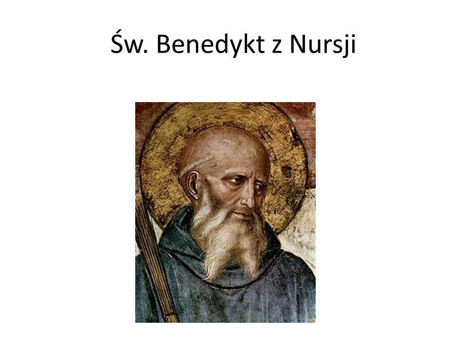Św. Benedykt z Nursji