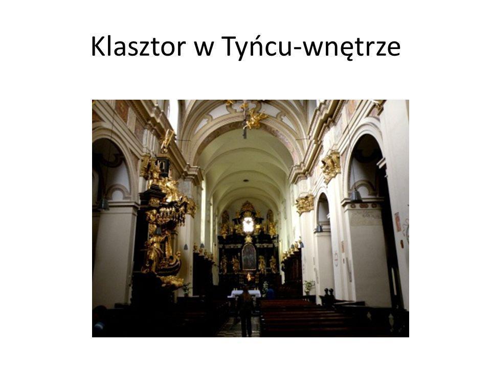 Klasztor w Tyńcu-wnętrze