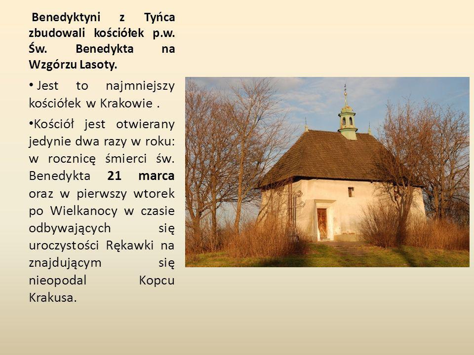 Jest to najmniejszy kościółek w Krakowie .