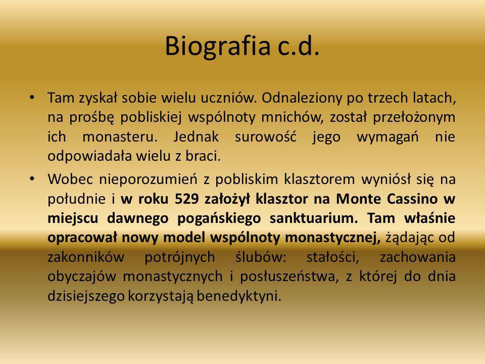 Biografia c.d.