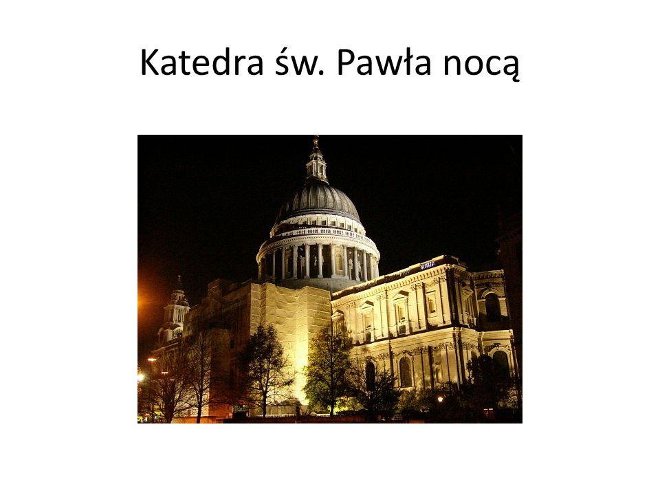 Katedra św. Pawła nocą