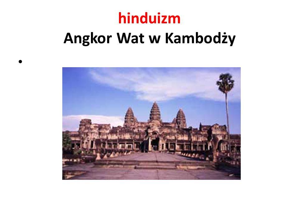 hinduizm Angkor Wat w Kambodży