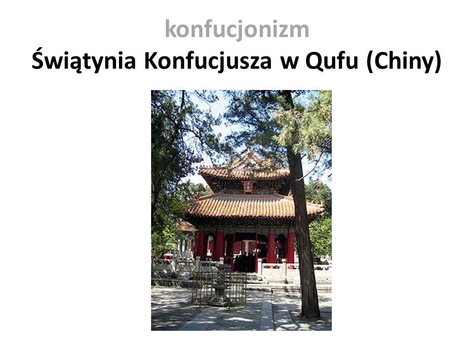 konfucjonizm Świątynia Konfucjusza w Qufu (Chiny)