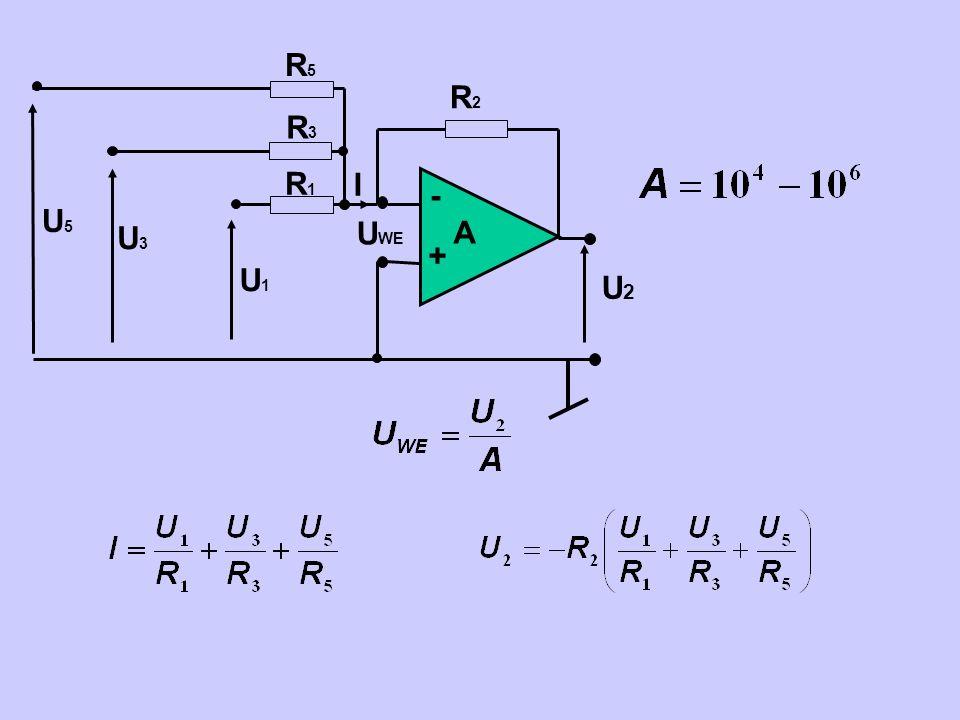 - + A UWE U2 R2 U1 R1 I R3 R5 U3 U5
