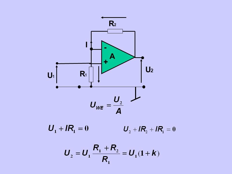 - + A U2 R2 U1 R1 I