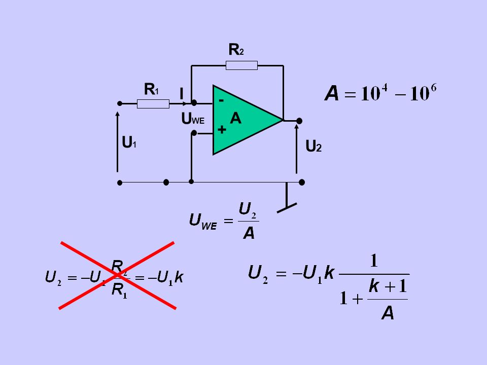 - + A UWE U2 R2 U1 R1 I