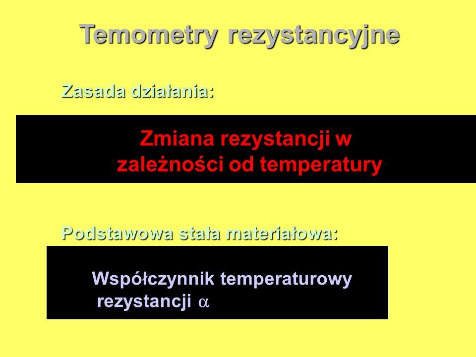 Temometry rezystancyjne