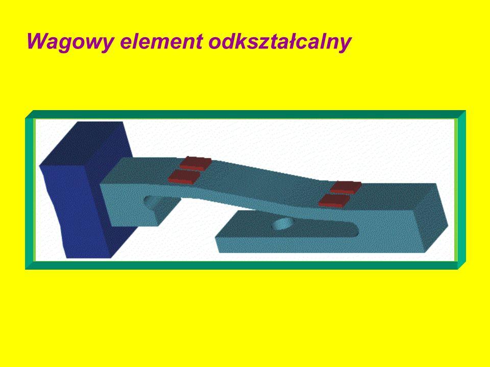 Wagowy element odkształcalny