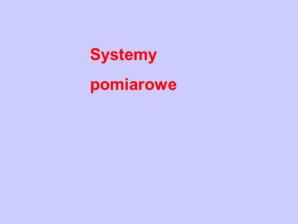 Systemy pomiarowe