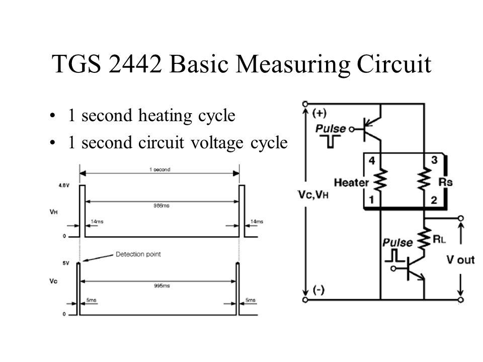 TGS 2442 Basic Measuring Circuit