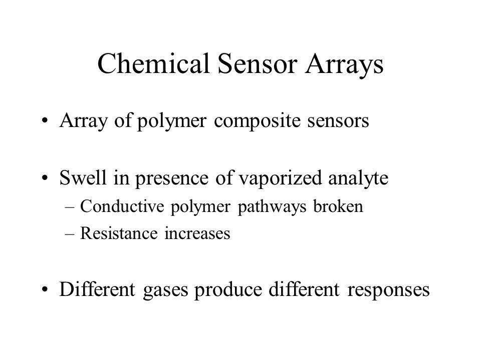 Chemical Sensor Arrays