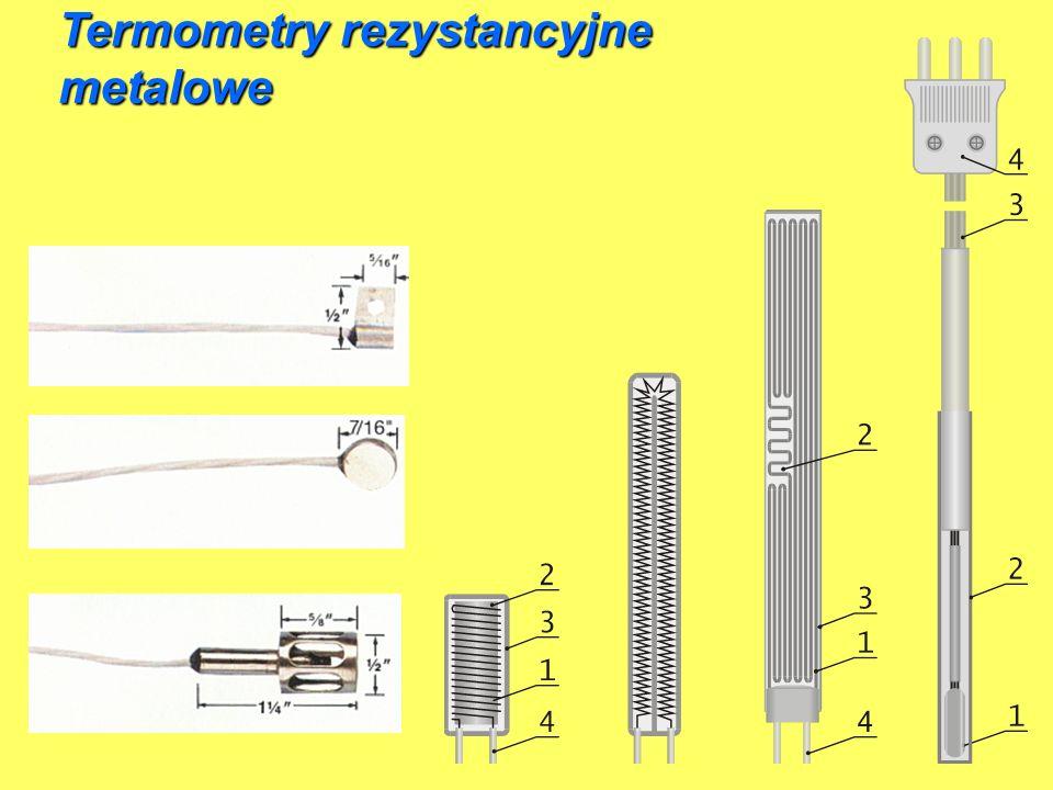 Termometry rezystancyjne metalowe