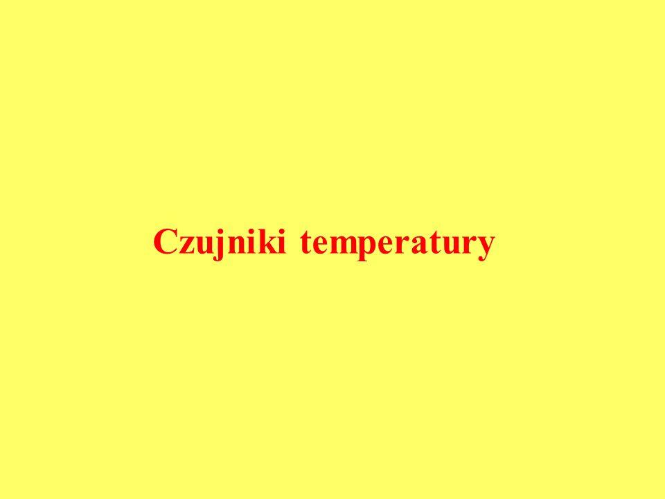 Czujniki temperatury