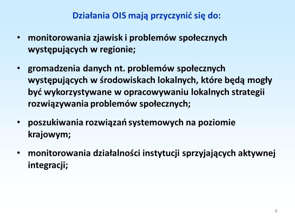 Działania OIS mają przyczynić się do: