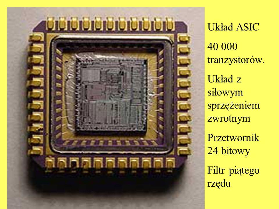 Układ ASIC 40 000 tranzystorów. Układ z siłowym sprzężeniem zwrotnym.
