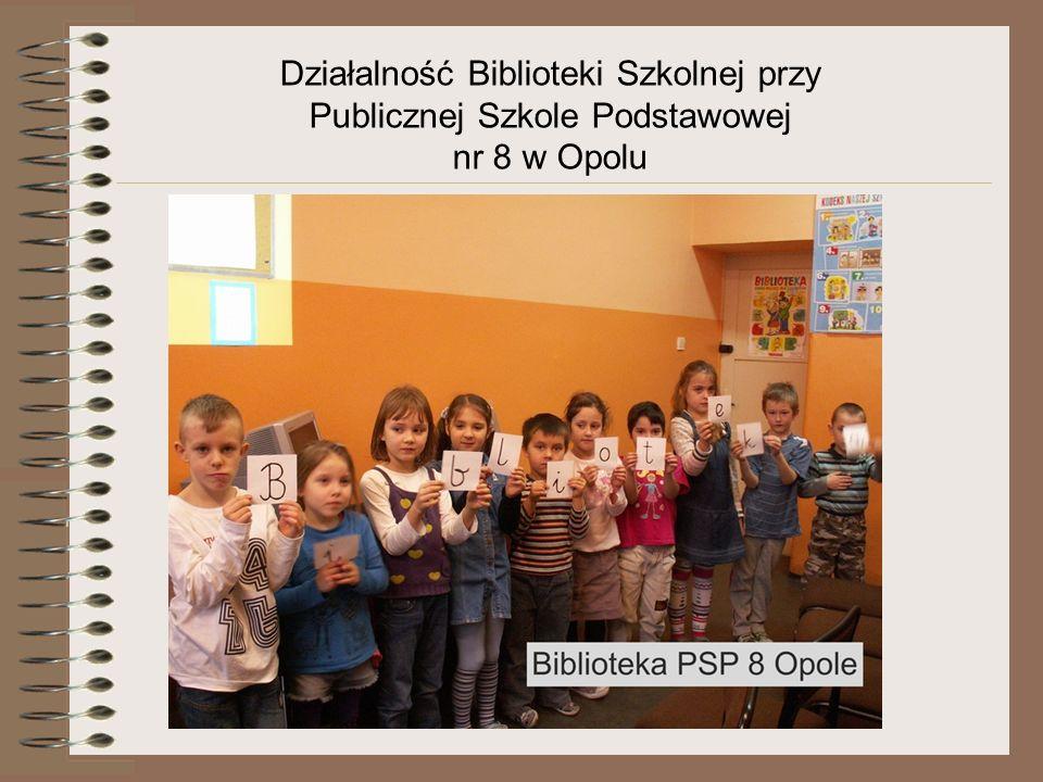 Działalność Biblioteki Szkolnej przy Publicznej Szkole Podstawowej