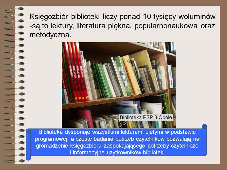 i informacyjne użytkowników biblioteki