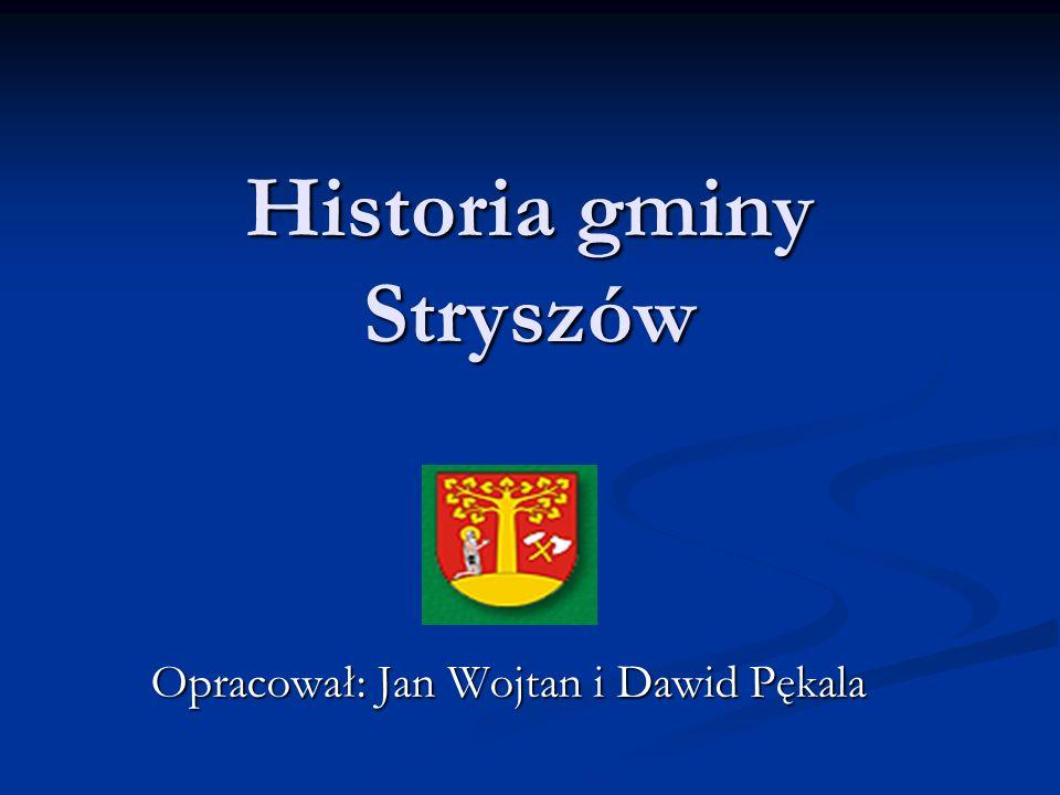 Historia gminy Stryszów