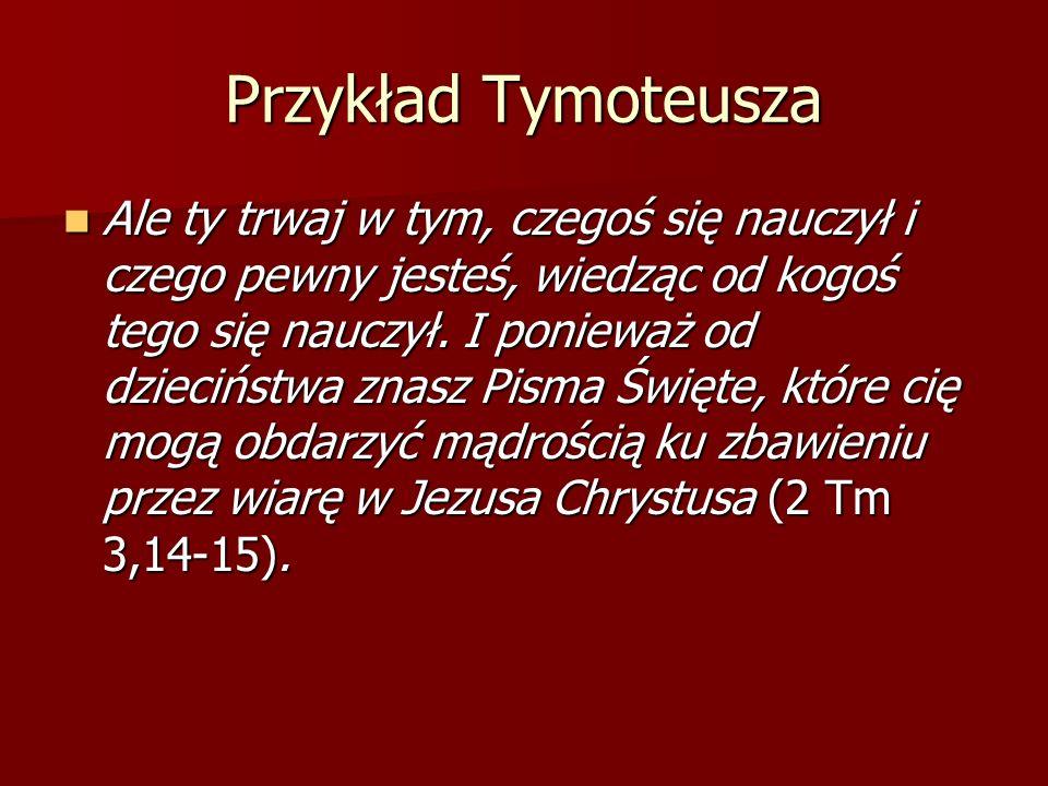Przykład Tymoteusza