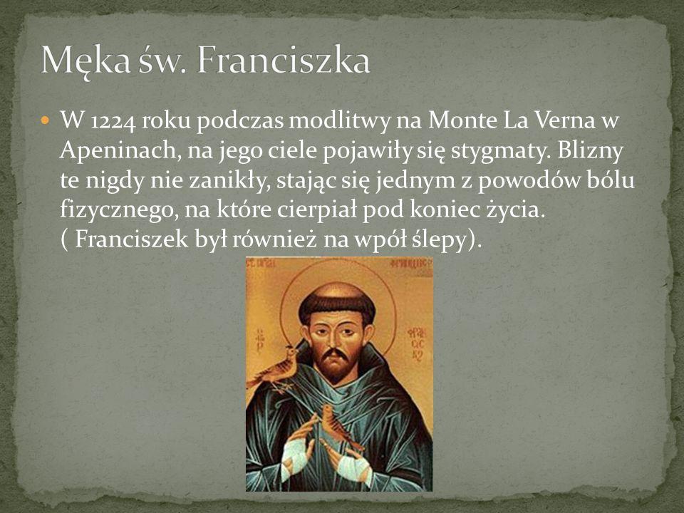 Męka św. Franciszka