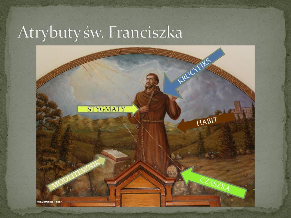 Atrybuty św. Franciszka